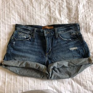 Joes Jean roll up shorts